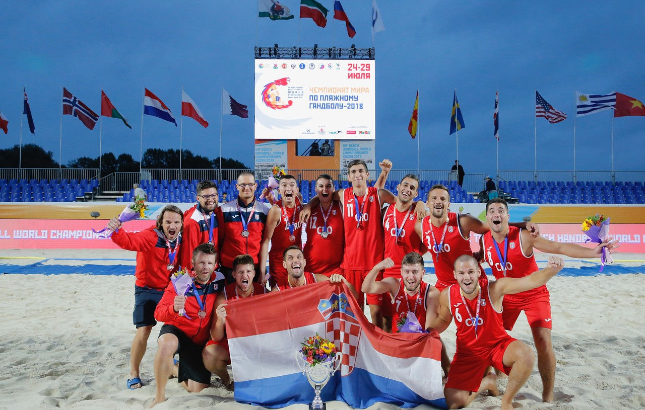 Beach Handball World Championships, 2018